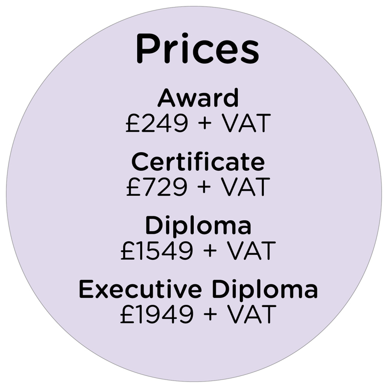 price listing for our CMI programmes.
