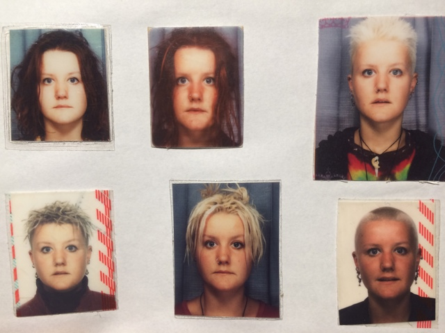 Amandas hairstyles over the years