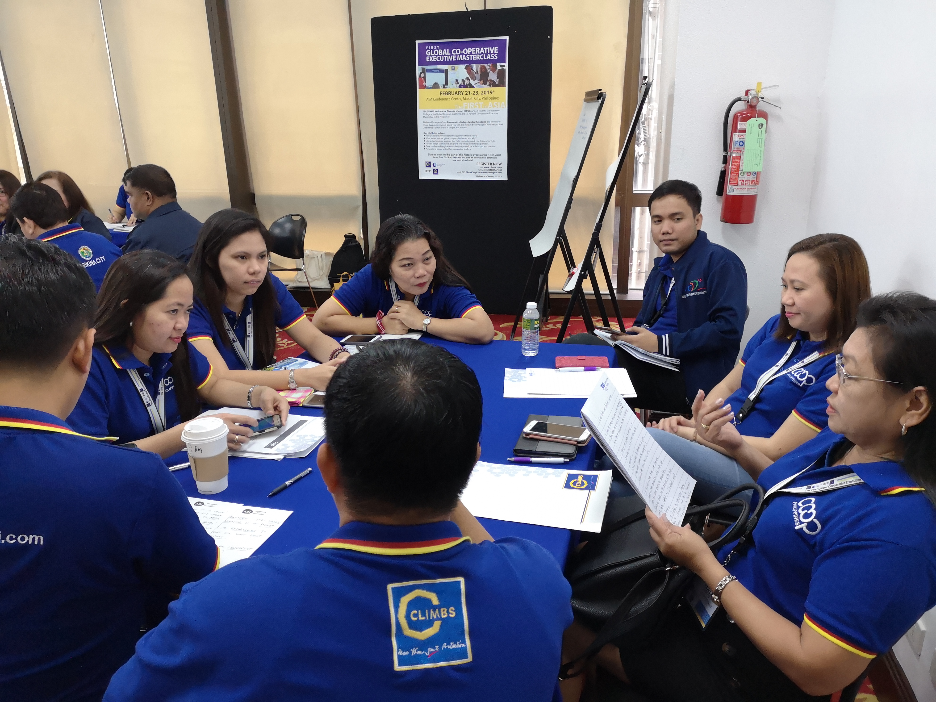 Group discussion in Philippines
