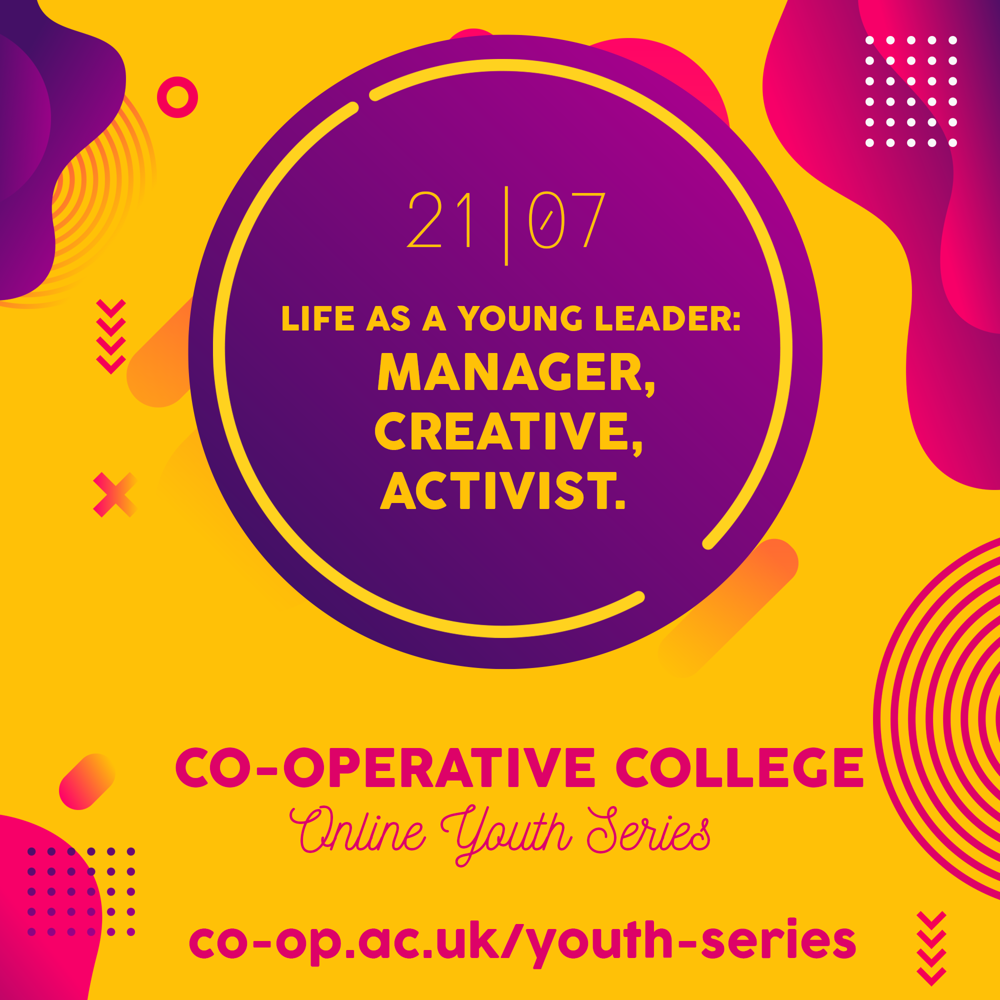 Life as a young leader session artwork