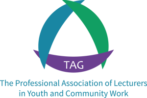 The Professional Association of Lecturers in Youth and Community Work logo