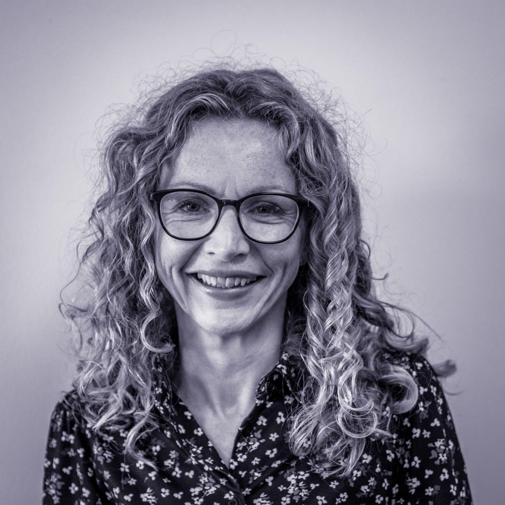 headshot of Alison Longden, Head of Learning, Co-operative College