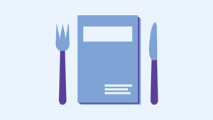 Learning lunches icon