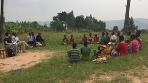 Self help group in Rwanda