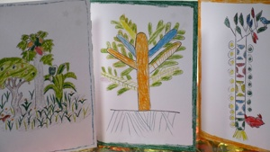 The 3 Christmas card designs