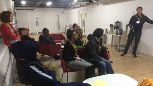Young people workshop