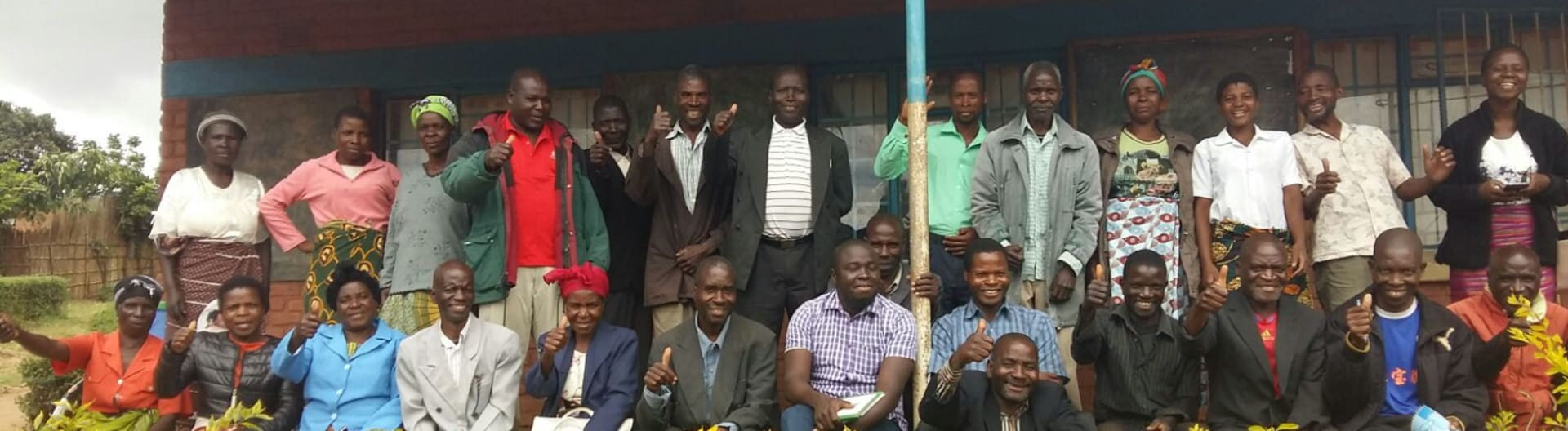 Malawi coffee group picture