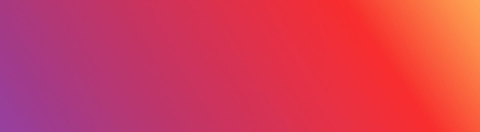 Instagram background colours of orange, red and purple